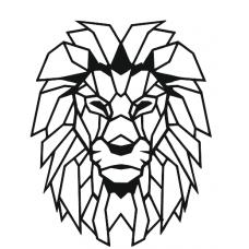 Панно на стену Лев