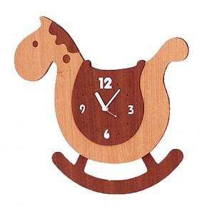 Детские настенные часы ночник