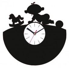 Часы в детскую Я люблю свою лошадку