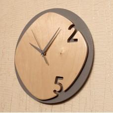 Интерьерные часы 2 цифры