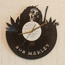 Часы на виниле Bob Marley-2