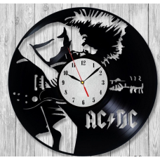 Часы на виниле ACDC-2
