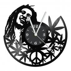 Часы на виниле Bob Marley