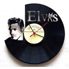 Часы на виниле Elvis Presley 2