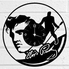 Часы на виниле Elvis Presley
