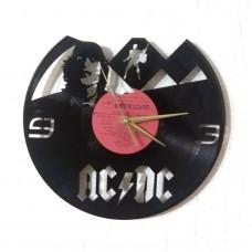 Часы на виниле ACDC