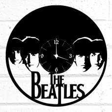 Часы на виниле Beatles-3
