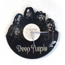 Часы на виниле Deep Purple
