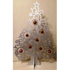 Новогодняя ёлка из дерева