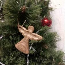 """Ёлочная игрушка из дерева """"Ангел"""""""