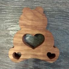 Сувенир из дерева Винни Пух