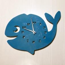 Детские настенные часы Кит