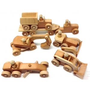 Игрушки из массива дерева
