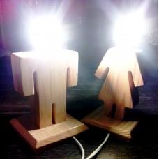 Прикроватный светильник Мальчик + девочка