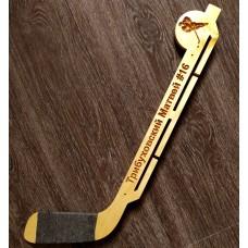 Именная медальница хоккеиста