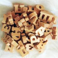 Резные объемные буквы из дерева