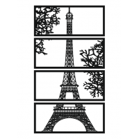 Панно на стену Эйфелева башня