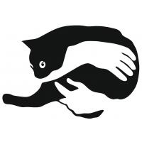 Панно на стену кот
