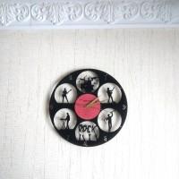 Часы из виниловой пластинки Rock