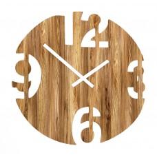 Настенные интерьерные часы 4 цифры