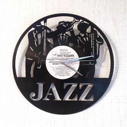 Часы на виниле Jazz