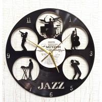 Часы на виниле Jazz 3