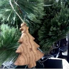 """Ёлочная игрушка из дерева """"Ёлочка"""""""