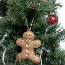 """Ёлочная игрушка из дерева """"Имбирное печенье"""""""