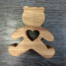 Сувенир из дерева Мишка
