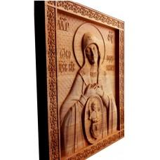 Резная икона Богородица В родах помощница