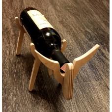 "Подставка для бутылки вина ""Бык"""