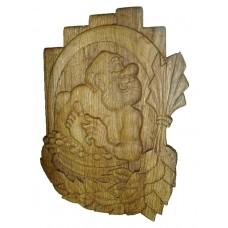 Табличка для бани и сауны Веселый дед